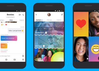 Novi dizajn Skype aplikacije
