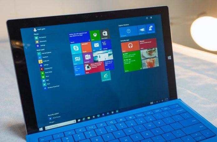 Windows 10 S na Microsoft Surface PRO