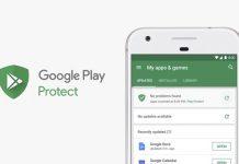 Google Play Protect značajka na Android telefonu