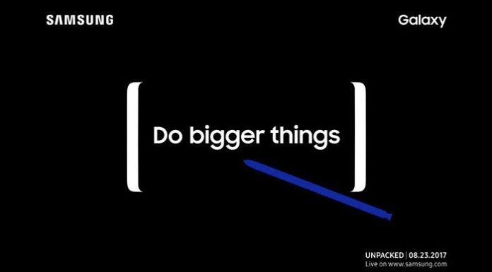 Galaxy Note 8 predstavljanje Do better things u New Yorku