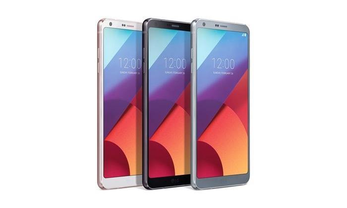 Srebrni, Sivi i Crni LG G6