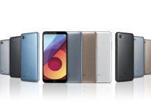 LG Q6 serija telefona u raznim bojama