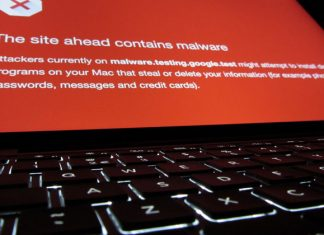 Poruka Malwarea na Chromeu