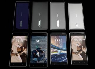 Nokia 8 blue, steel, gold blue i gold copper