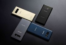 Samsung Galaxy Note 8 zlatni, crni, sivi i modri
