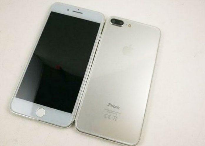 iPhone 7s prednja i stražnja strana
