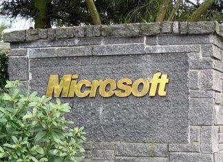 Microsoft natpis