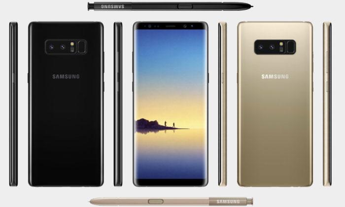 Samsung Galaxy Note 8 Crni i zlatni