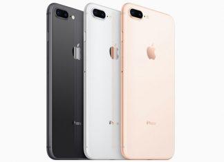 iPhone 8 crni, srebrni i zlatni
