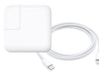 USB-C Lightning kabel i 29W punjač