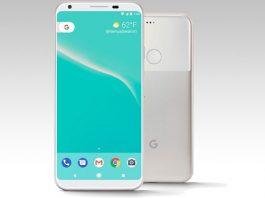 Google Pixel 2 prednja i stražnja strana telefona