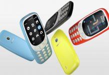 Nokia 3310 3G plava, crna, žuta i crvena