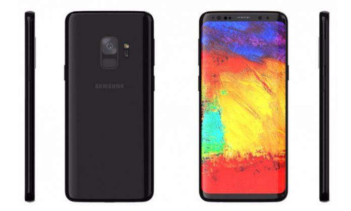 Samsung Galaxy S9 render