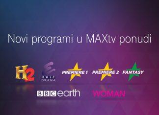 Novi Maxtv kanali