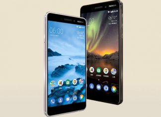 Nokia 6 2018 zaslon