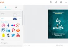 Designcap web sučelje aplikacije