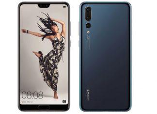 Huawei P20 Pro prednja i stražnja strana pametnog telefona