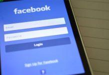 Facebook login na mobitelu