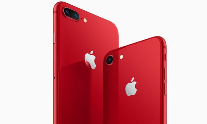 Crveni product red iPhone 8 i iPhone 8 Plus