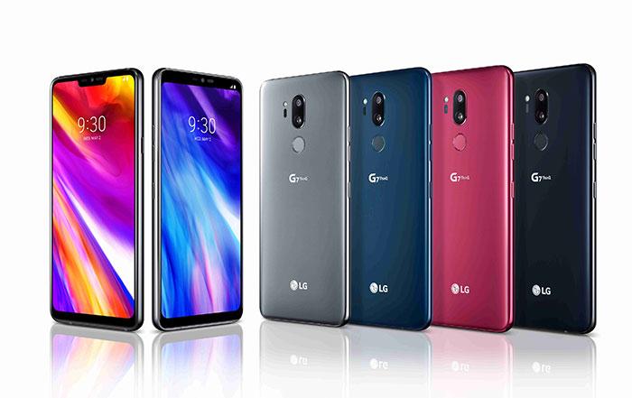 LG G7 ThinQ sve boje