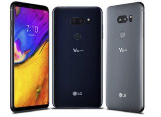 LG V35 ThinQ Dizajn telefona