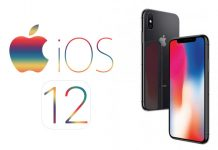 iOS 12 Logotip