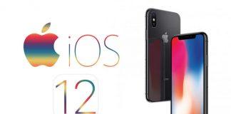 iOS 12 Logotip