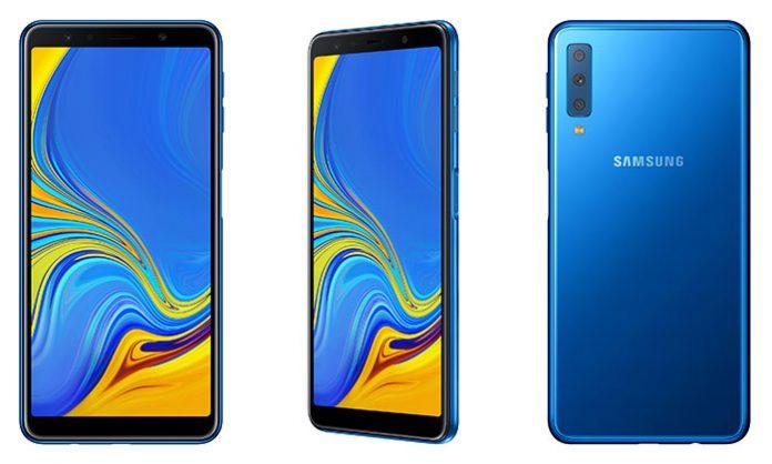 Samsung Galaxy A7 2018 naslovna plavi