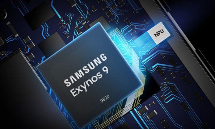 Exynos 9820 čip grafika