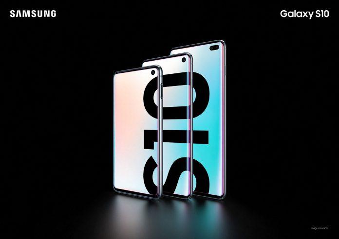 Samsung Galaxy S10, S10+ i S10e ekran