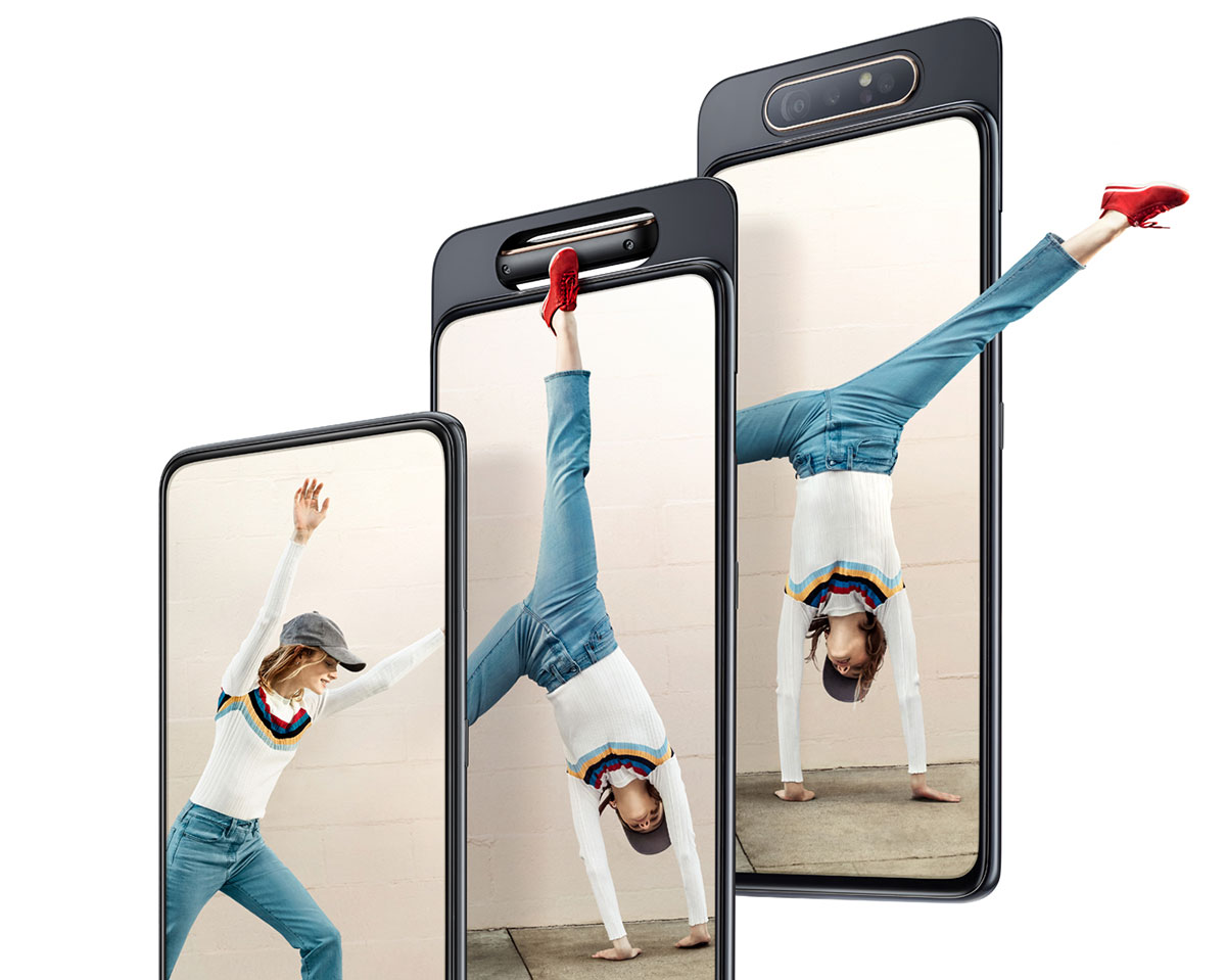 Samsung Galaxy A80 rotiranje kamere