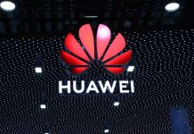 Huawei logotip na MWC2019 sajmu