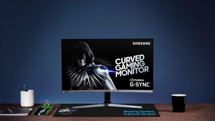 Samsung CRG5 gaming monitor
