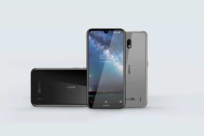 Nokia 2.2 dizajn