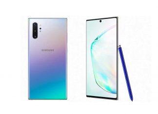 Samsung Galaxy Note 10 dizajn