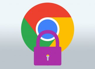 Google Chrome safety logo