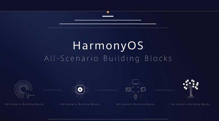 Harmony OS blokovi