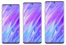 Samsung Galaxy S20 zasloni pametnih telefona