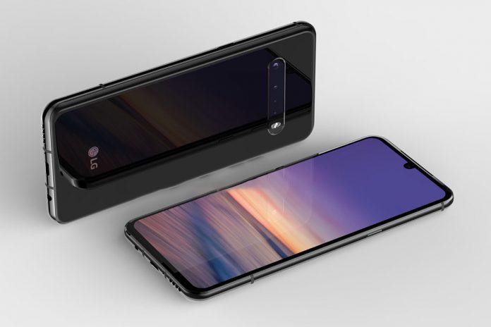 LG V60 ThinQ dizajn telefona