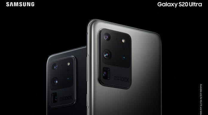Samsung Galaxy S20 Ultra kamere uređaja
