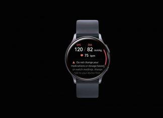 Aplikacija za mjerenje krvnog tlaka na Samsung Galaxy pametnom satu
