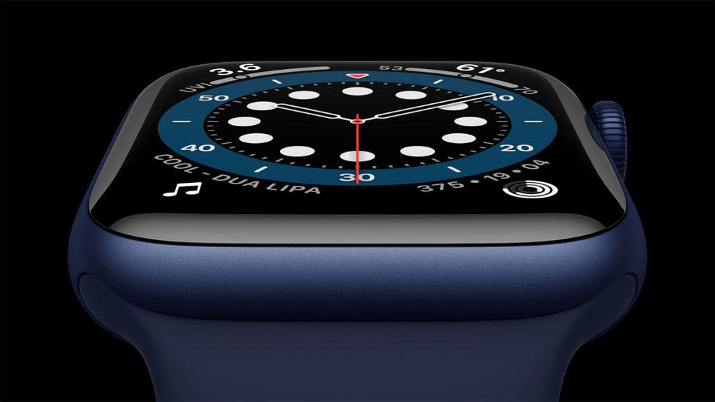 Plavo srebrna verzija sata