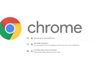 Google Chrome blokiranje obavijesti